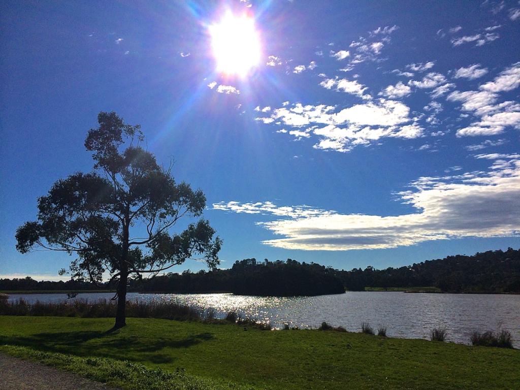 Winter sunshine in Melbourne