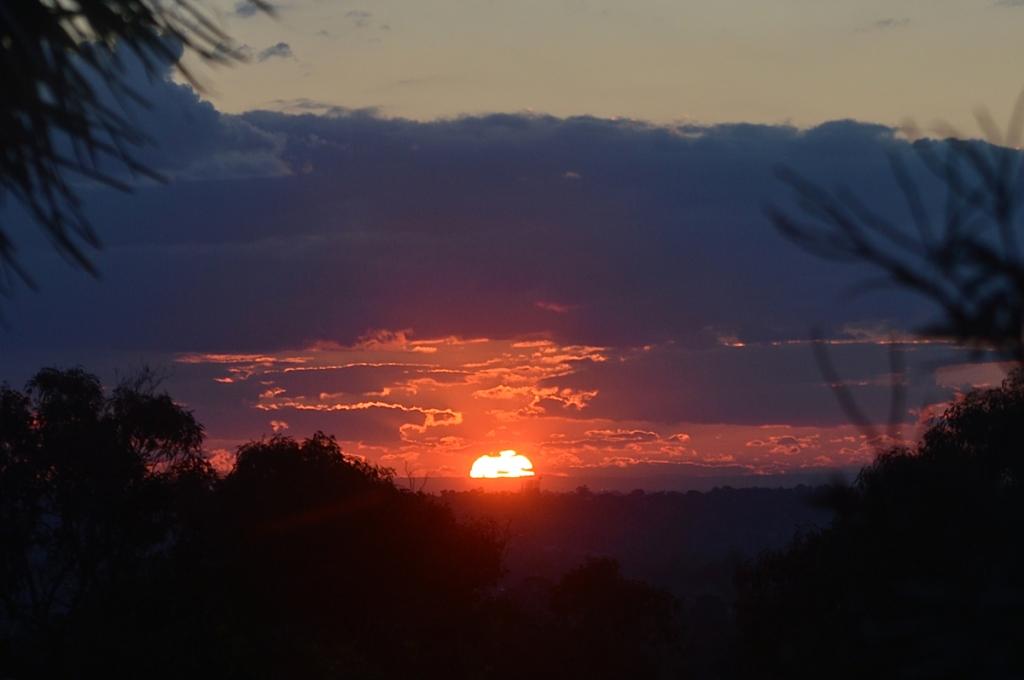 August 21 sunset 2