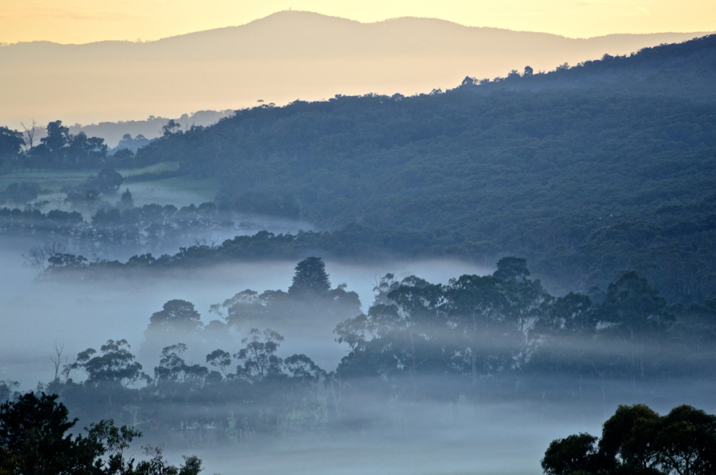 August 27 Fog Mount Dandenong base
