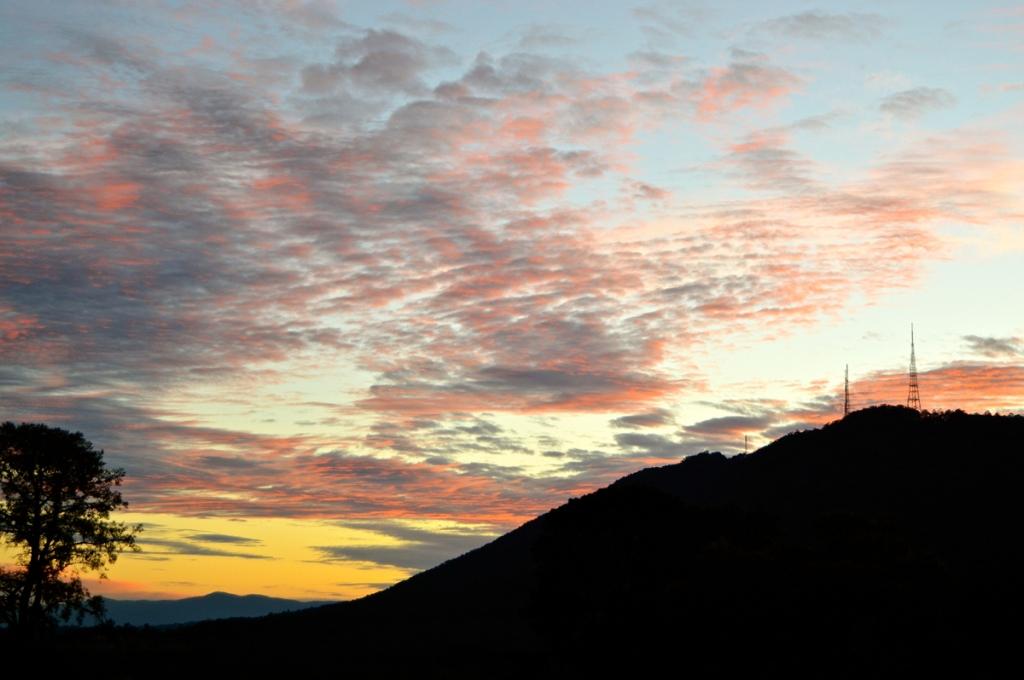 August 9 sunrise