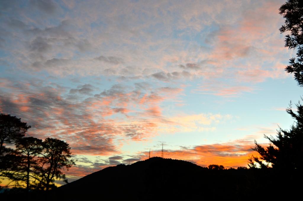 August 9 sunrise 2