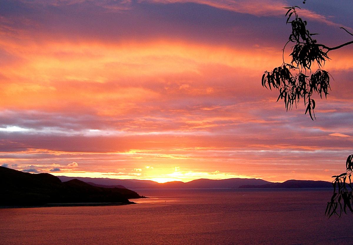 Sunset Hamilton Island Time