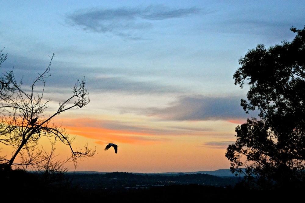 October 9 sunset 1