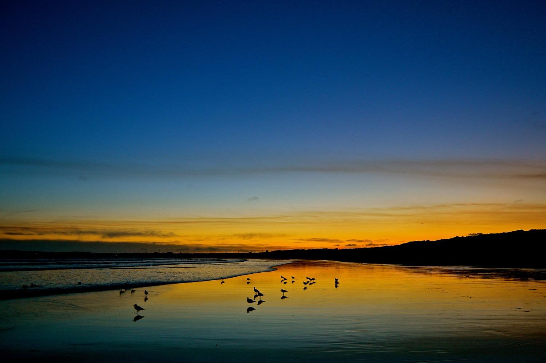 Sunset in Ocean Grove – Eight Skies