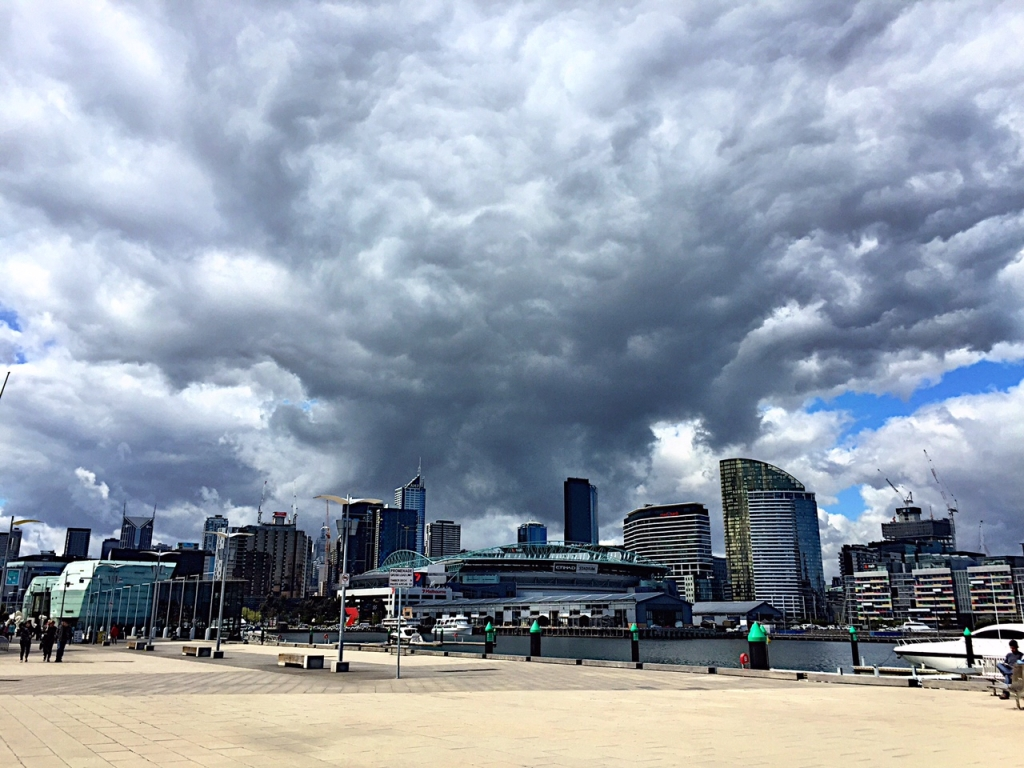 Melbourne skies September 24